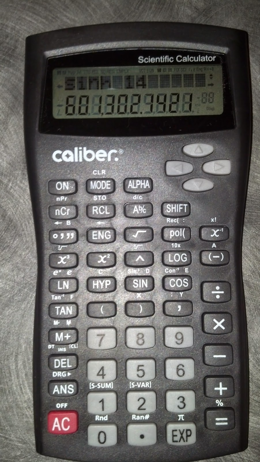 Eddie's Math and Calculator Blog: Caliber Scientific