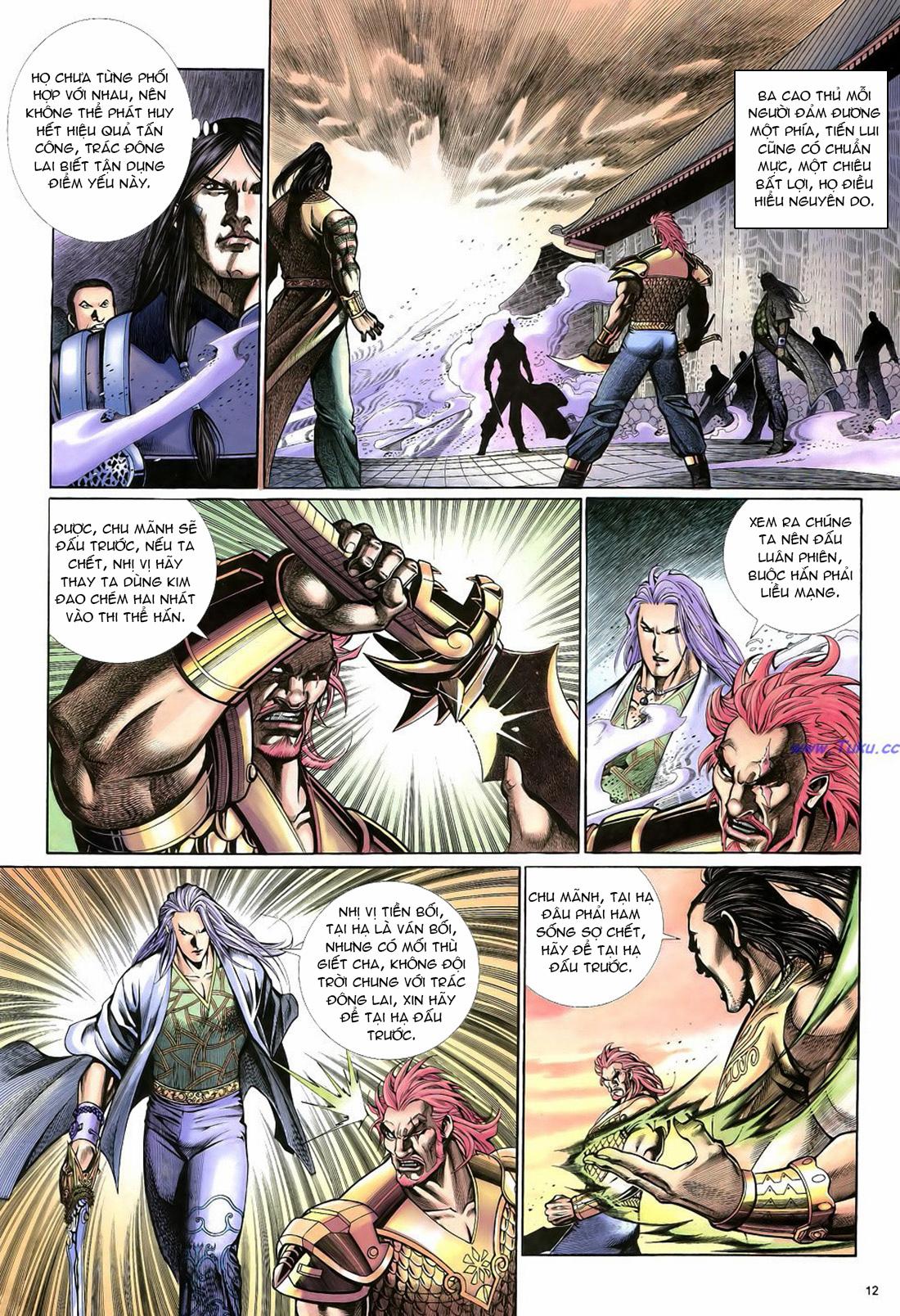 Anh hùng vô lệ Chap 22 trang 13