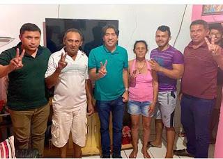 Nas redes sociais prefeito Nelinho Costa comemora mais uma adesão a sua pre-candidatura e reeleição em Cacimba de Dentro