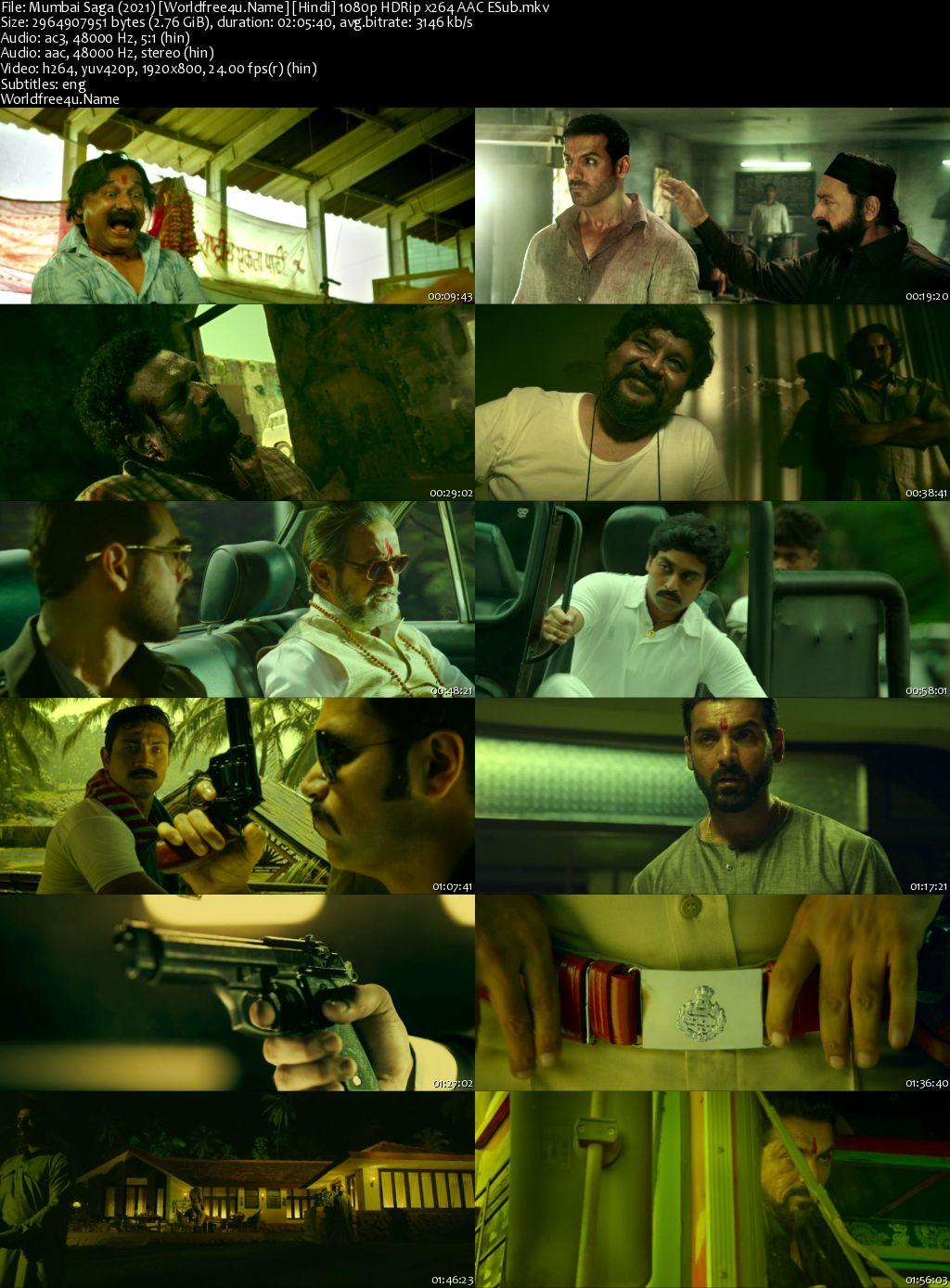 Mumbai Saga 2021 Hindi HDRip 1080p