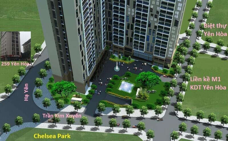 Mở bán dự án E2 Yên Hòa - Chelsea Residences | ducanhland