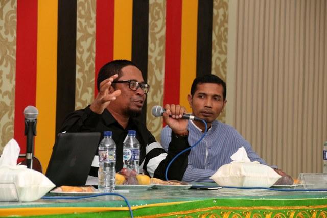 DPD RI dan Komisioner KKR Aceh Kuliah Umum di STAIN