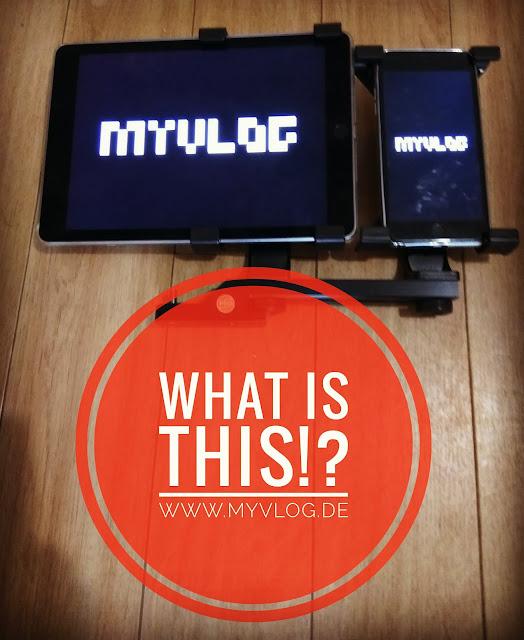 WHAT IS THIS!? Technik - MyVlog Foto: iPad und iPhone Stative-Halterung