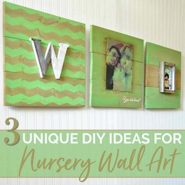 Rustic Wood Plank DIY Wall Art