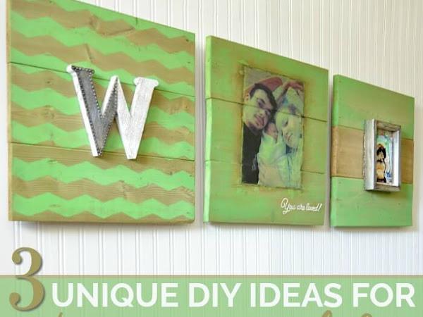 Three Unique DIY Ideas For Nursery Wall Art