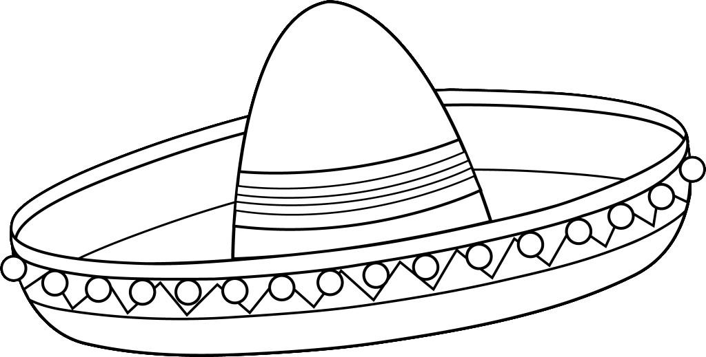 Sombrero De Charro Para Colorear Imagenes De Gorro Charro