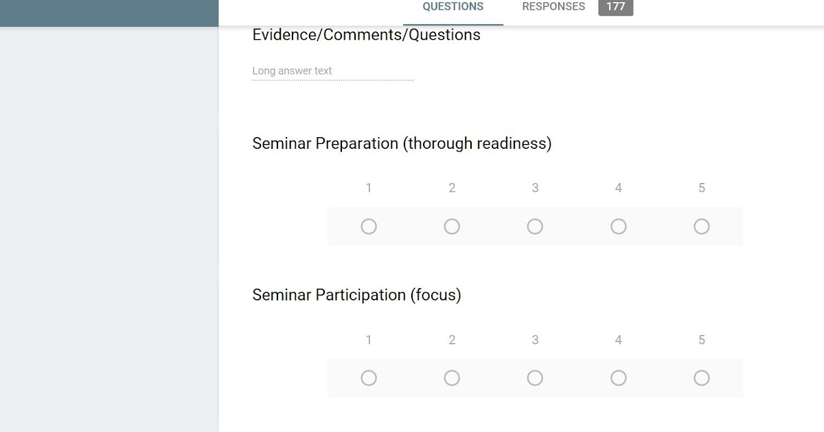 The Insurgent Instructor In All Of Us Seminar Assessment - instructor evaluation form