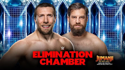 Elimination Chamber WWE Daniel Bryan Heath Slater Gulak