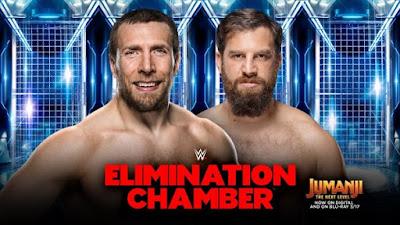 Elimination Chamber WWE Daniel Bryan Heath Slater Gulak