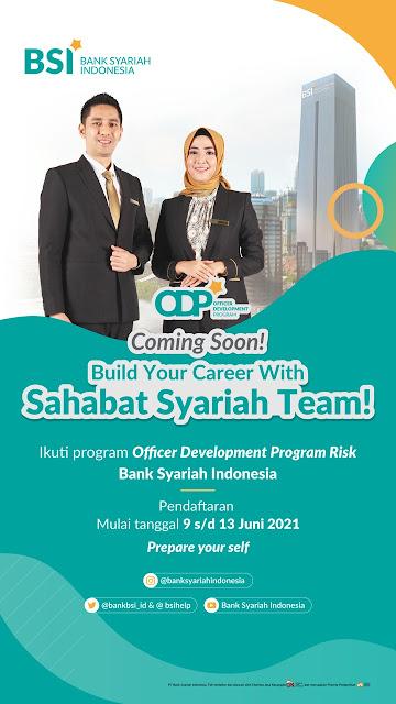 Bank Syariah Indonesia Membuka Program Officer Development Program Risk