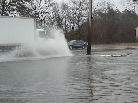 Flooded Cranberry Highway Impassable In Spots