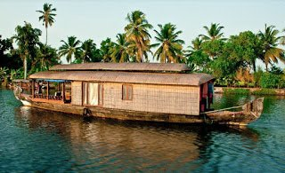 House boat tourism in Kuttanad