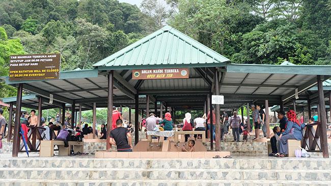 Hot spring Ranau