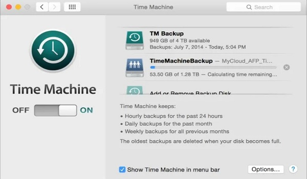 How to back up your MacBook