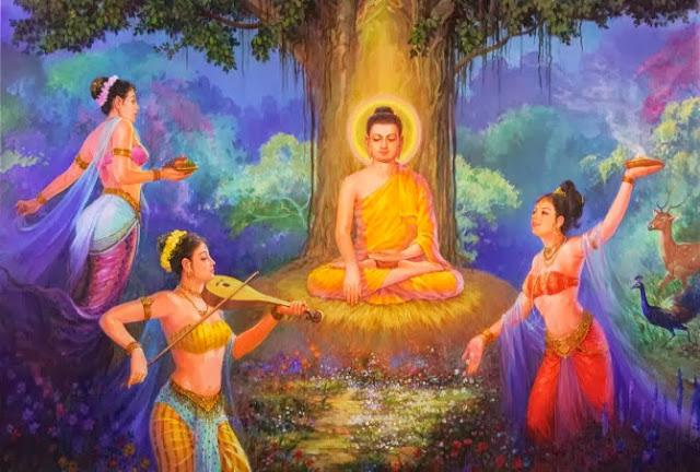 Đạo Phật Nguyên Thủy - Kinh Tăng Chi Bộ - Các thiên nữ