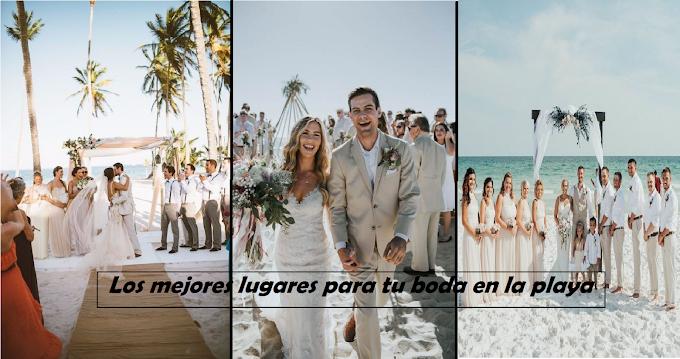 Los mejores 5 destinos para celebrar tu boda en playas mexicanas