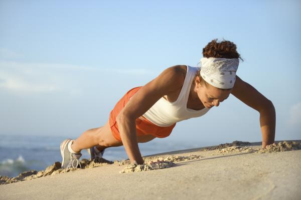 Los beneficios de las flexiones, deporte y salud