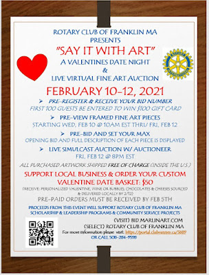 """Say it with Art"" A Valentines Date Night & Virtual Art Auction!"