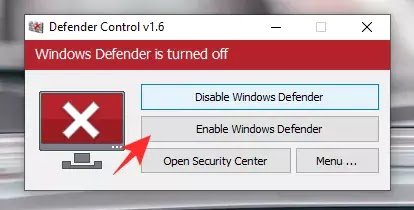 enable Windows Defender