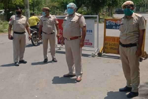 faridabad-police-arrested-9-accused-for-breaking-lock-down-rule