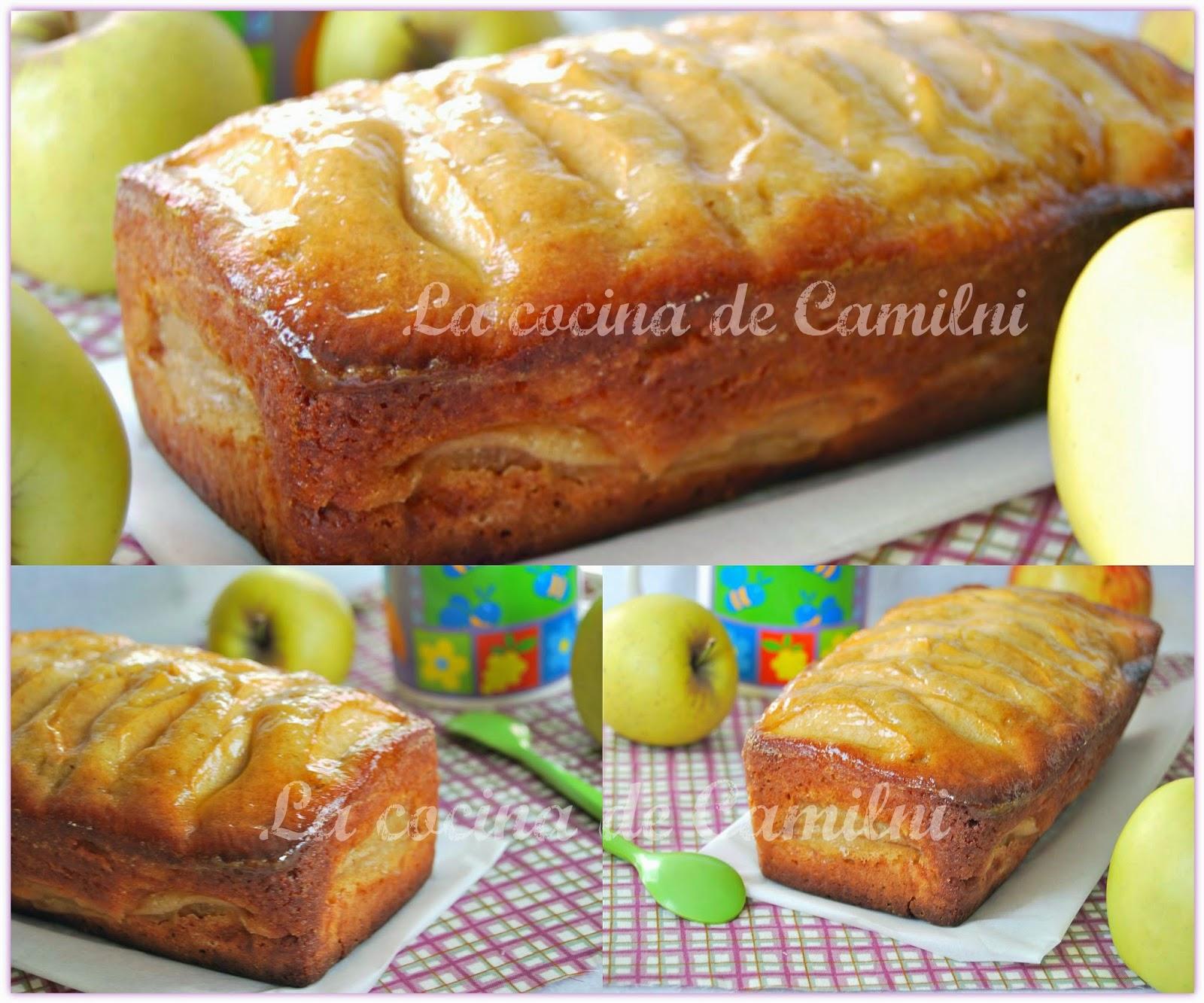 Bizcocho de manzana y queso batido (La cocina de Camilni)