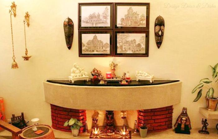Ethnic Indian Wall Decor & Design Decor u0026 Disha | An Indian Design u0026 Decor Blog: Wall Stories ...