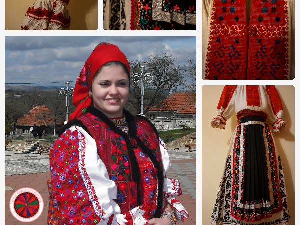 Women traditional outfit from Ținutul Pădurenilor