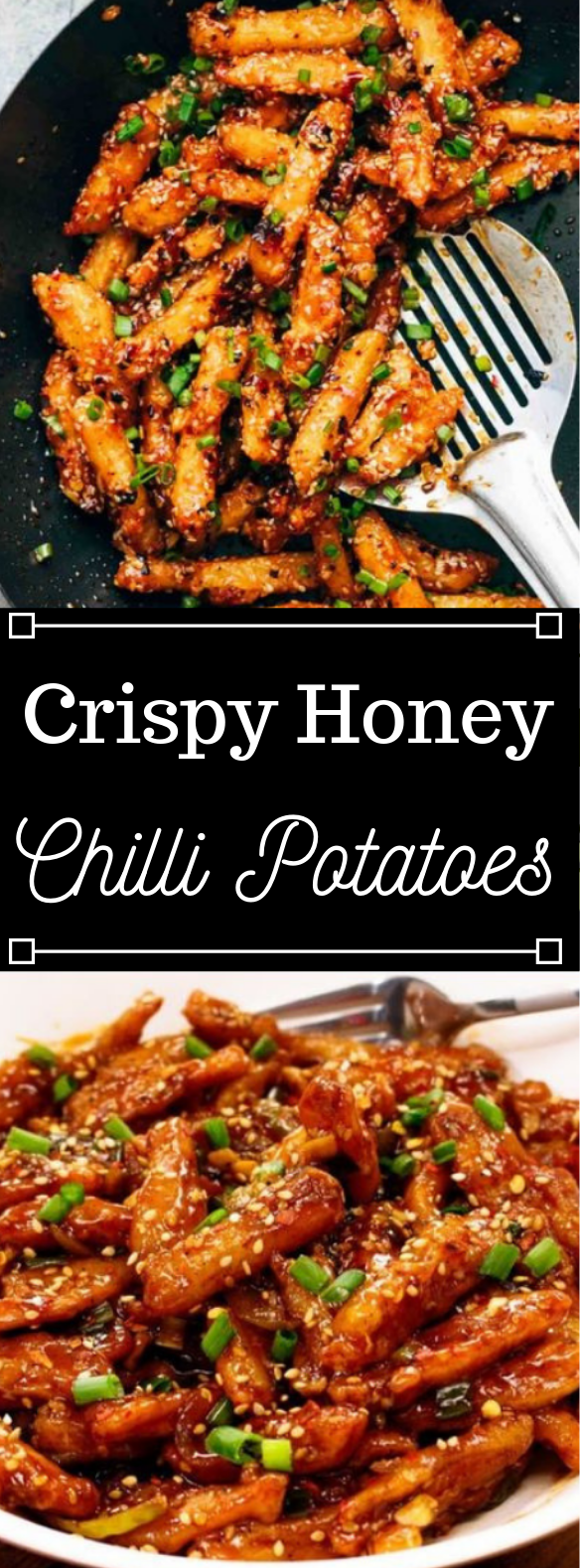 Crispy Honey Chilli Potatoes #vegan #potato #vegetarian #yummy #easy