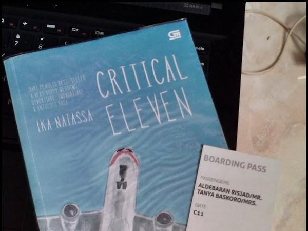 Menit-Menit Kritis Dalam Critical Eleven [RESENSI]