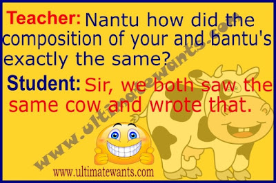 Best Teacher Student Jokes In English