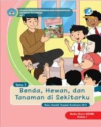 Buku tema 7 Guru Kelas 1 k13 2017