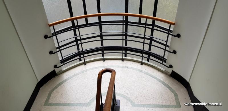 klatka schodowa Warszawa Warsaw modernizm art deco architektura sułkowski Horacy Heller KGMO architecture