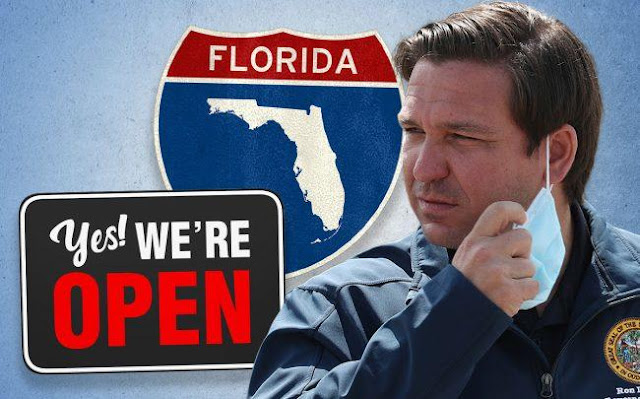 Florida sign Yes we're open