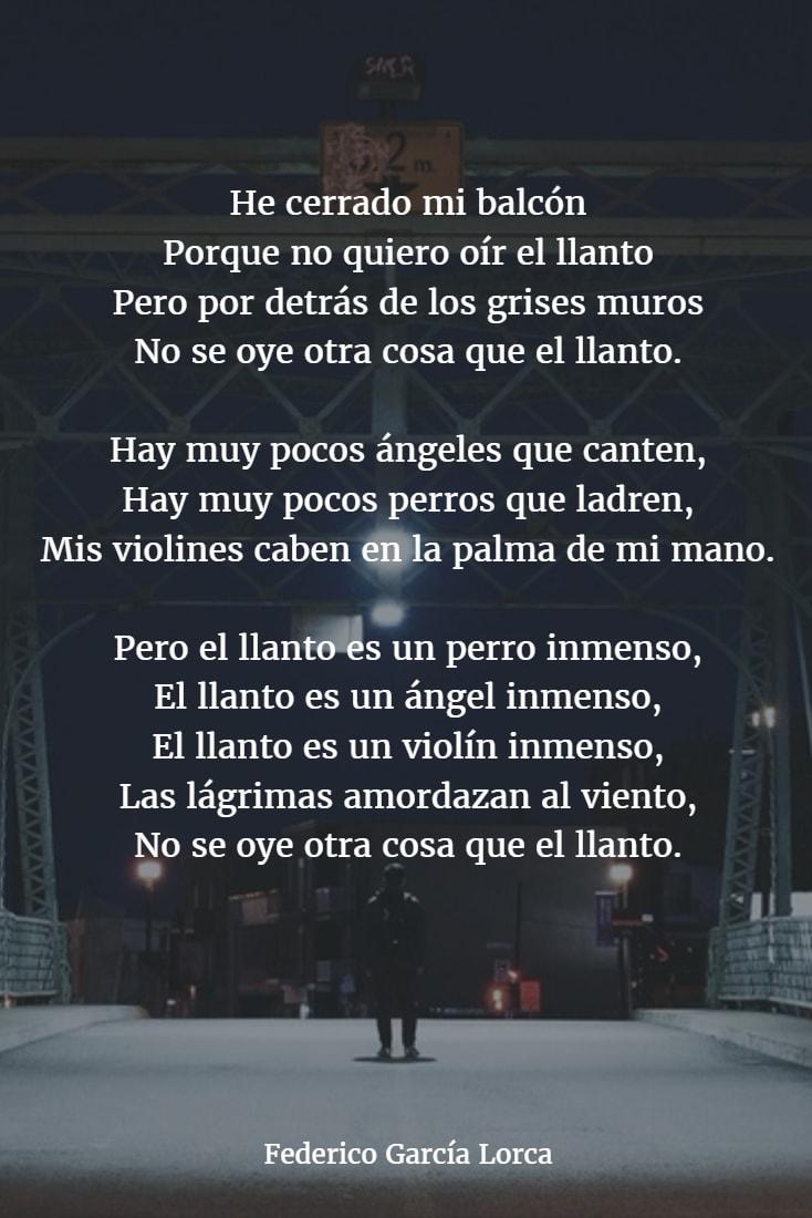 Atrapados Por La Imagen Poema Federico García Lorca