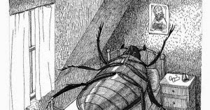 into what kind of creature is gregor samsa transformed