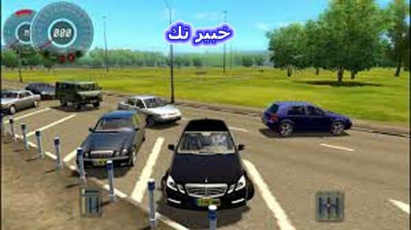 تحميل لعبة تعليم القيادة city car driving