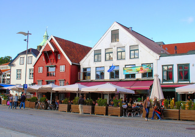The wharf at Port Stavanger is where we had lunch on our last day in Stavanger.