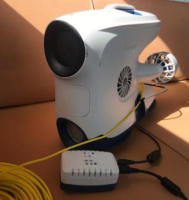 Исследование корпуса судна, винта и пера руля. Судовой подводный дрон. Опыт эксплуатации