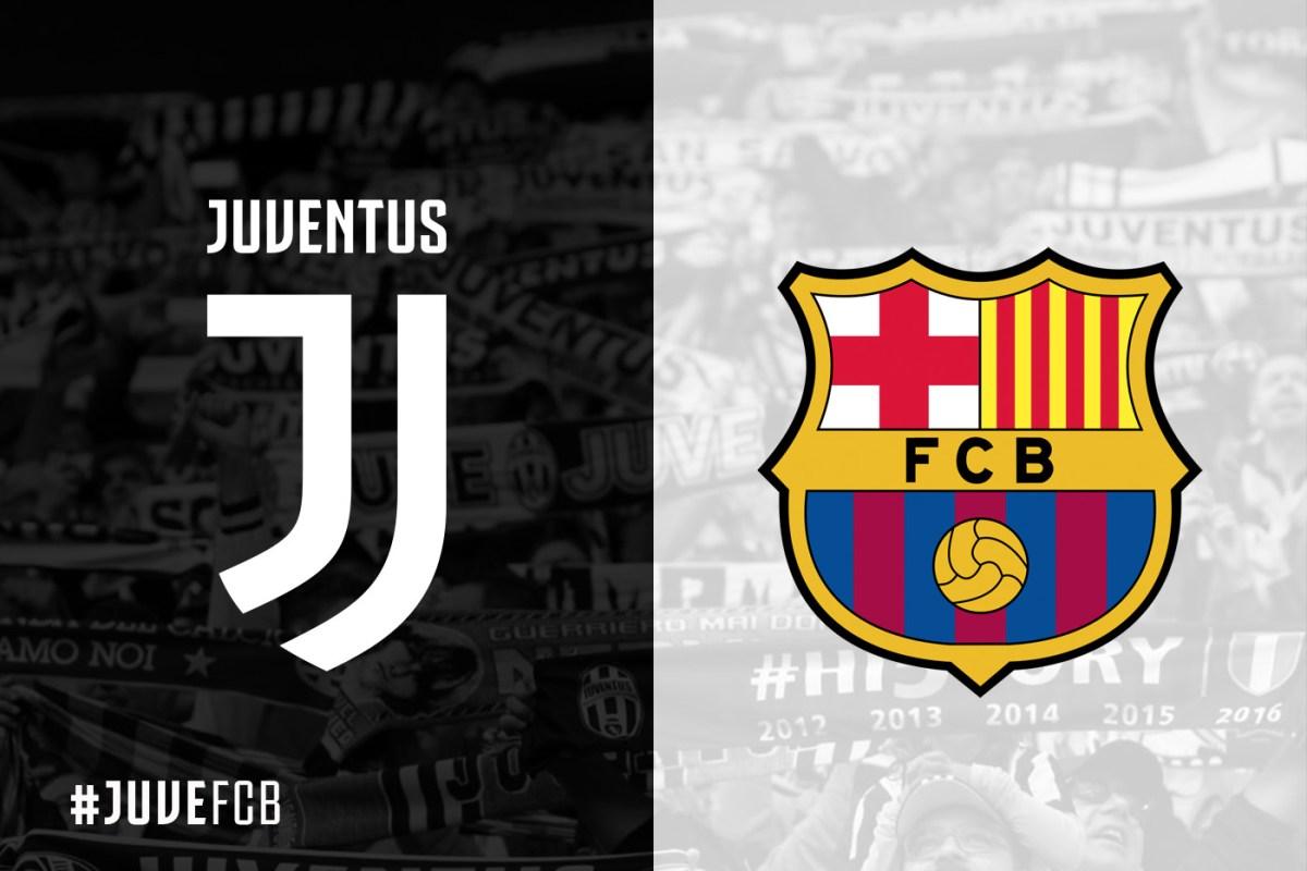 موعد مباراة برشلونة ضد يوفنتوس والقنوات الناقلة في قمة المجموعة السابعة بدوري أبطال أوروبا
