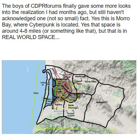 Cyberpunk 2077 Map Comparison ~ Cyberpunk 2077 Info And Game