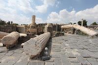 ook gespeld als Beit She'an, Beth Shean, Bet-San, Bet Sjean, Beyt Shean