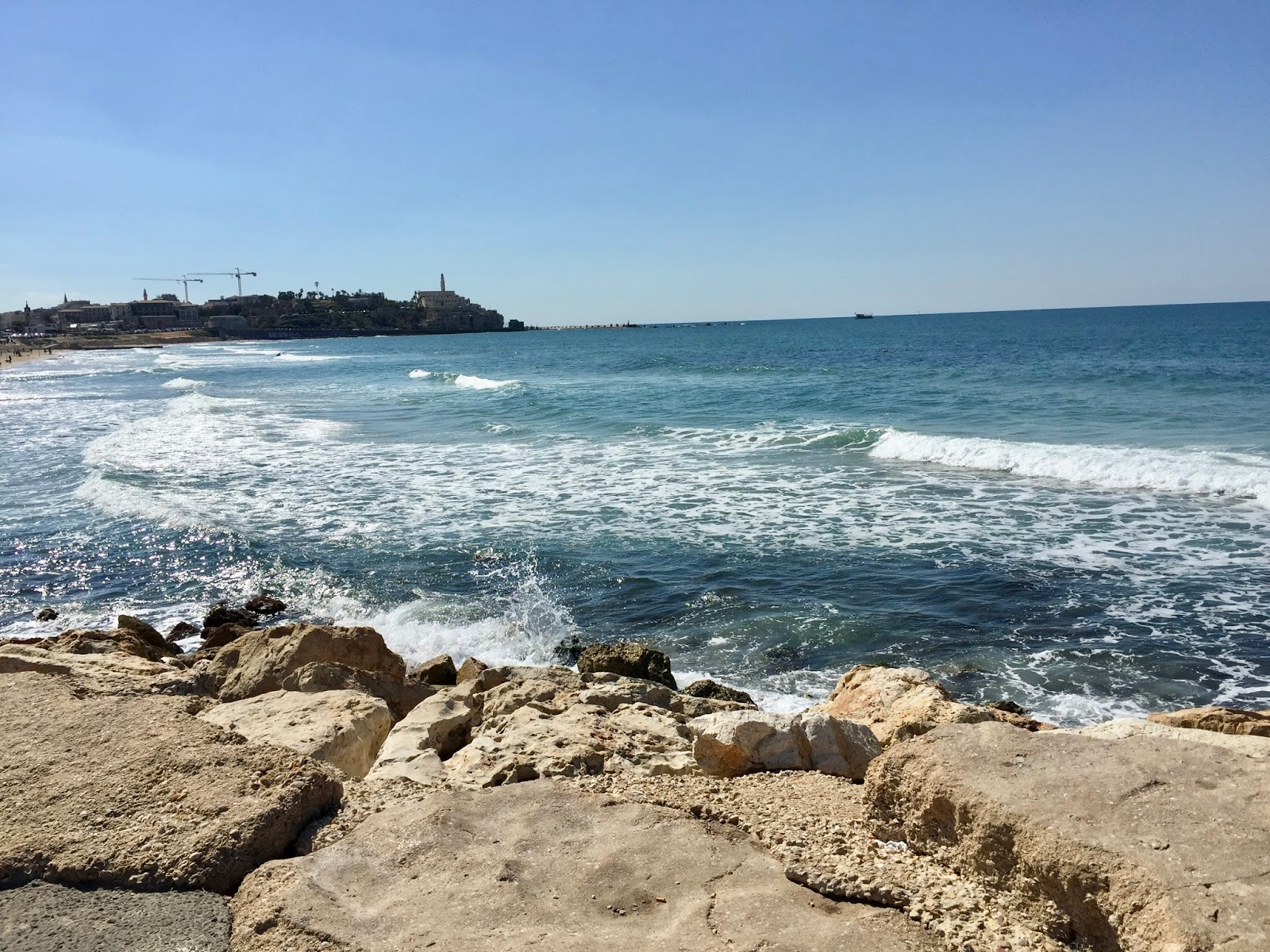 Moře v Tel Avivu