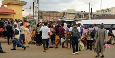 Policemen Beat Soldier For Not Wearing Face Mask In Edo