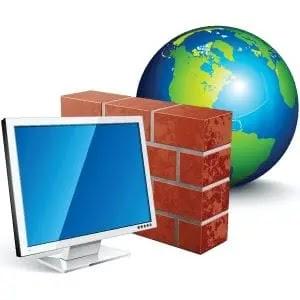 تعطيل جدران الحماية الأمنية لجهاز الكمبيوتر الخاص بك