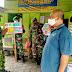 Koramil Ngawen Lakukan Penegakan Protkes Covid 19 di Warung Bakmi Jowo
