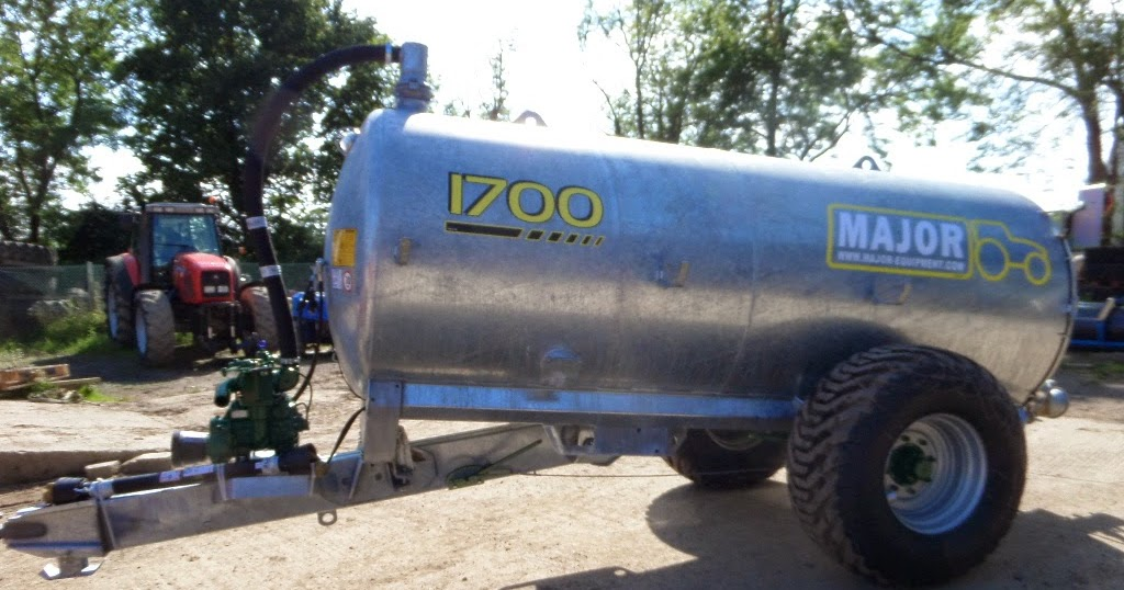 Used Tractors Machinery And Plant Major 1700 Gallon