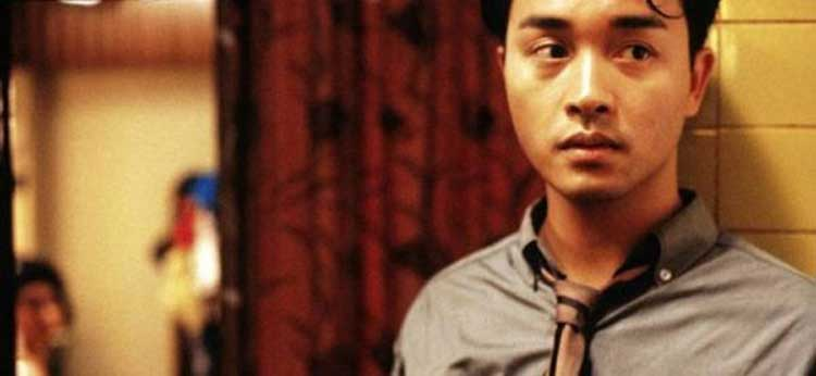 Leslie Cheung stars in Wong Kar-Wai's Days of Being Wild.