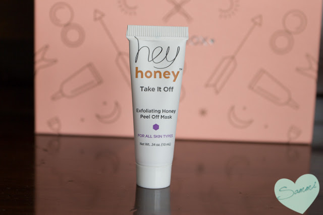 HEY HONEY |  Take it Off! Exfoliating Honey Peel Off Mask - Birchbox February 2016 Review