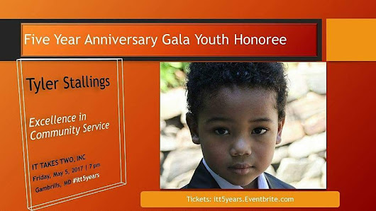 I am a youth honoree!