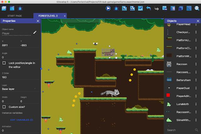GDevelop برنامج تطوير الألعاب بدون أي برمجة